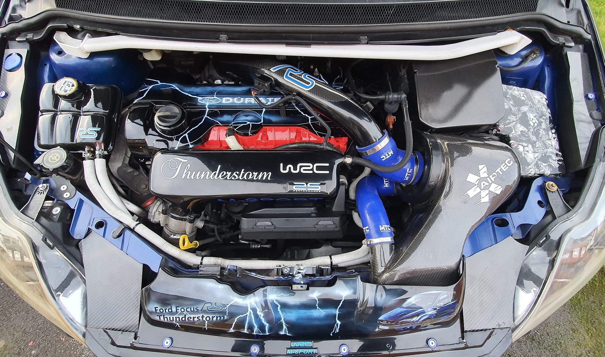 Ford Thunderstorm Engine Bay