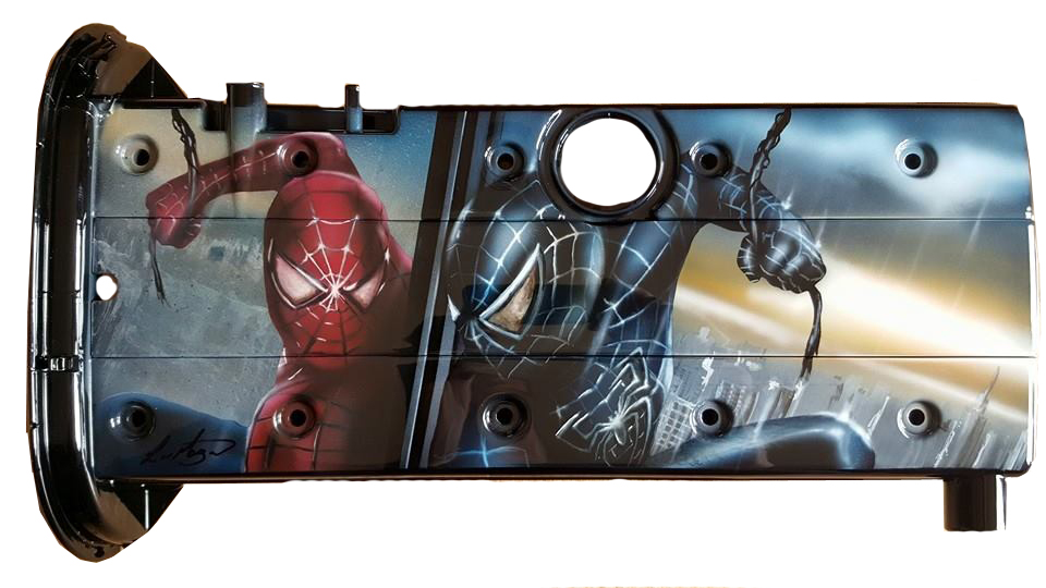 Spiderman Reflection Rocker Cover